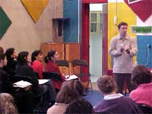 Paul consulting on equity, diversity, multicultural education with a school in Mexico City
